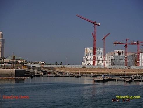 Casablanca à la voile un port de pêche de commerce et de guerre interdit au voilier !