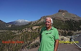 L'ascension du TEIDE enneigé 3718 mètres, des paysages lunaires de toute beauté