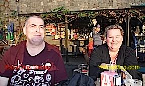 Jean marie et sa femme à Los giganteque