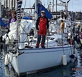Le 20 janvier fut le jour des essais en mer d'Hector avec des vagues de deux à 3 m