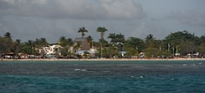 La plage de Sainte Anne