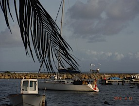 le petit port de pêche de ste Anne