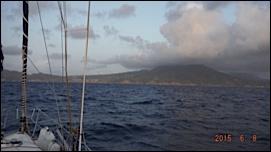 L ile au volcan actif de Montserrat