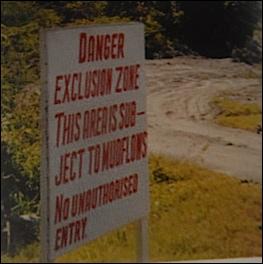 la zon sud interdite aux touristes