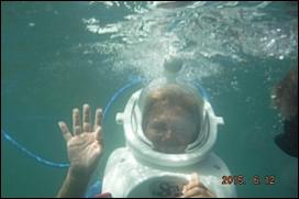 la plongée en apesanteur