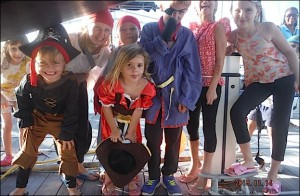 PIRATES ENFANTS  AU MARIN