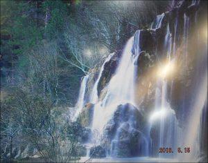 cascades à coté de trinidad